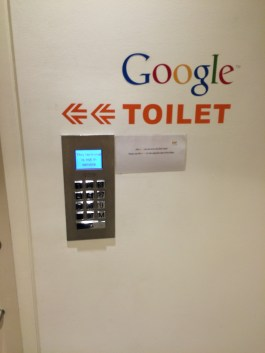 One of many 'Google' toilets